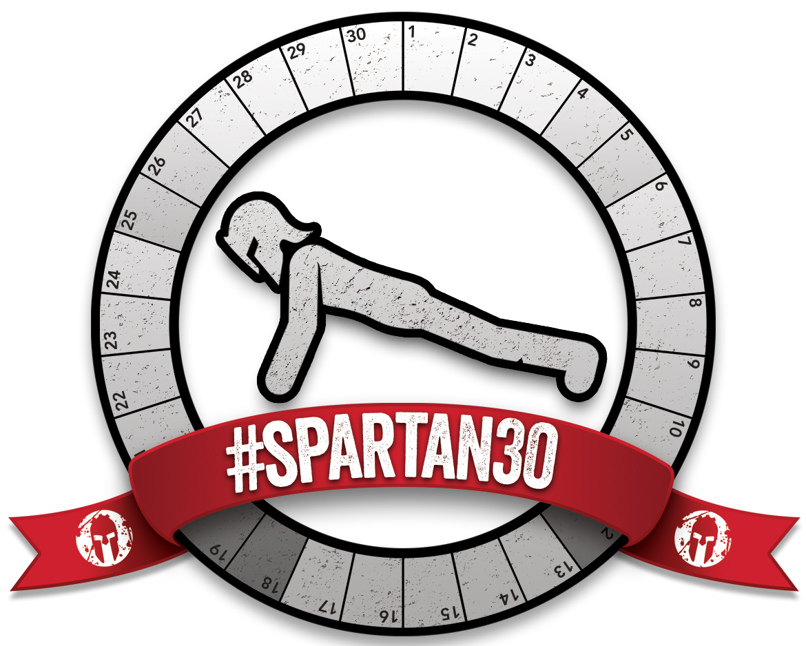 Fitness clipart plank. Spartan this month is