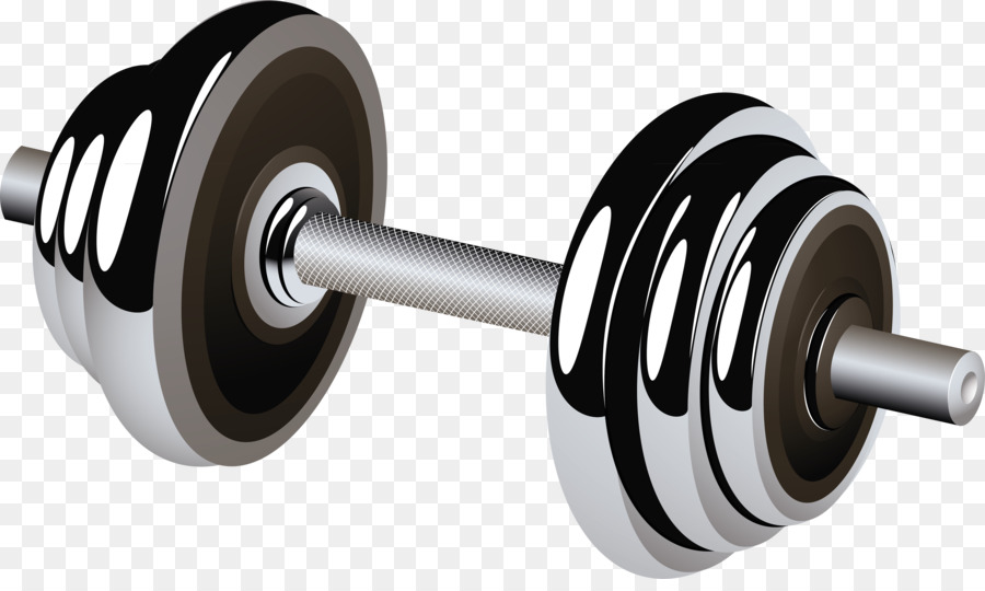 Gym clipart gym tool. Fitness cartoon barbell exercise