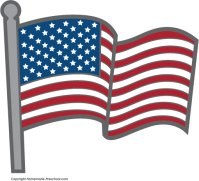 Free american flags . Flag clipart