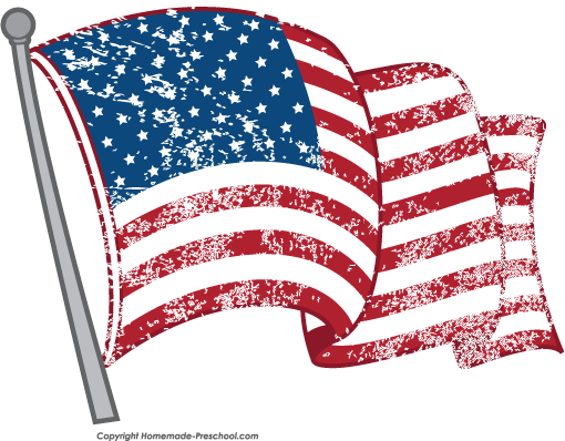 Free american flags click. Flag clipart