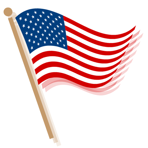 Flag clipart. Image american clip art