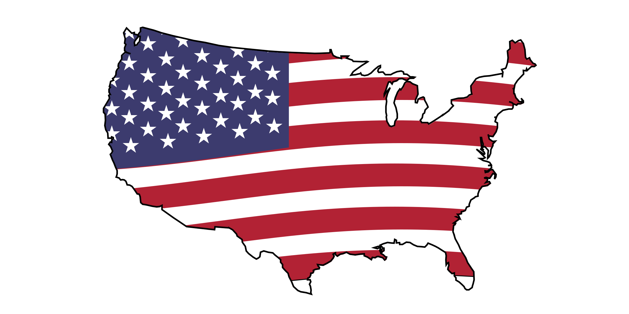 Flag clipart animated. Animation of american big