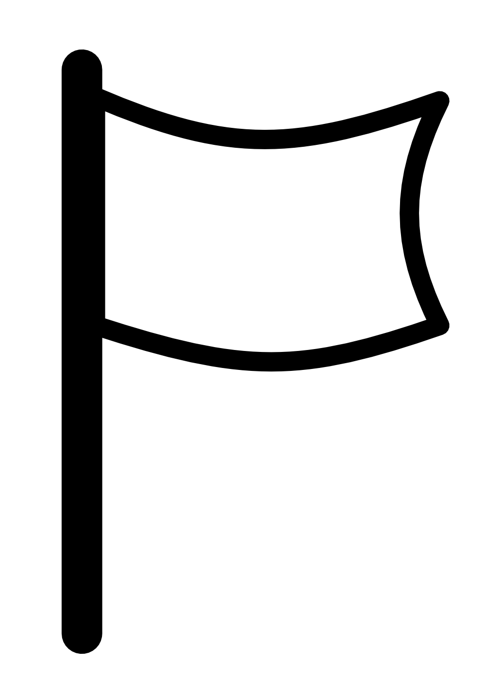Square clipart pennant. Flag clip art free