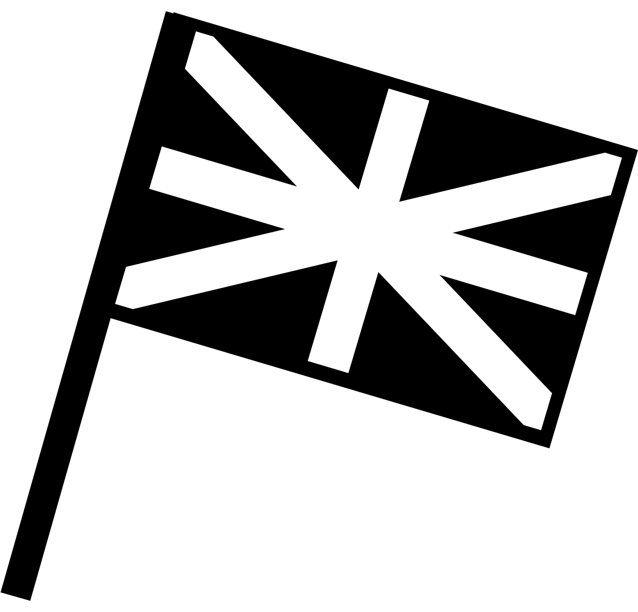 London clipart flag. England nationality stripes