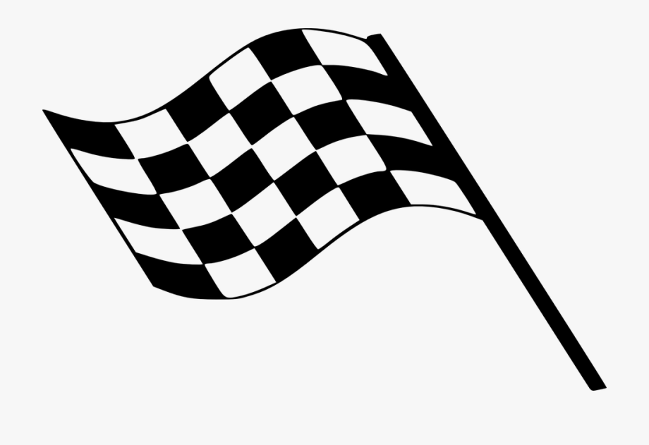 Nascar clipart race road. Checked finish line clip