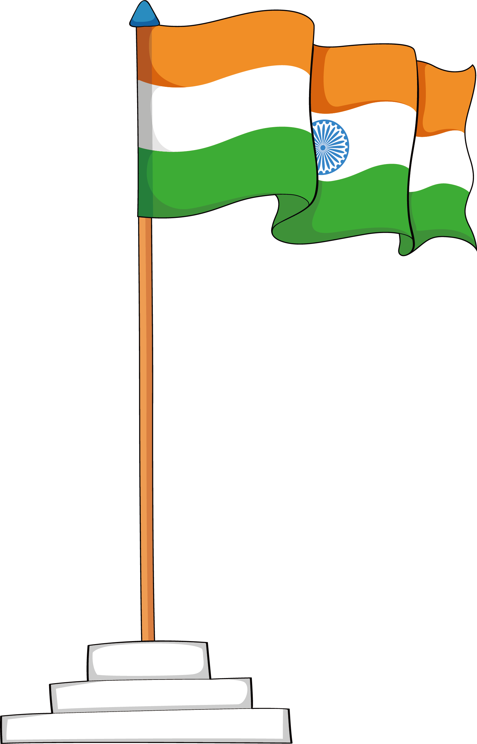 Mango clipart national. Flag of india clip