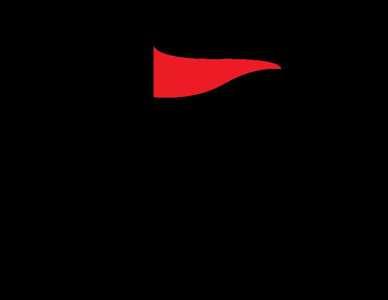 Whip clipart vector. Red flag clip art