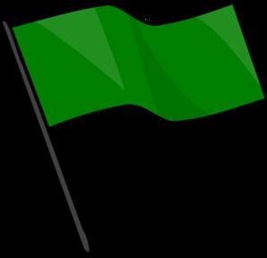 Clip art at clker. Flag clipart green