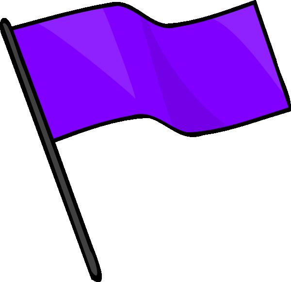 Purple clip art at. Flag clipart green