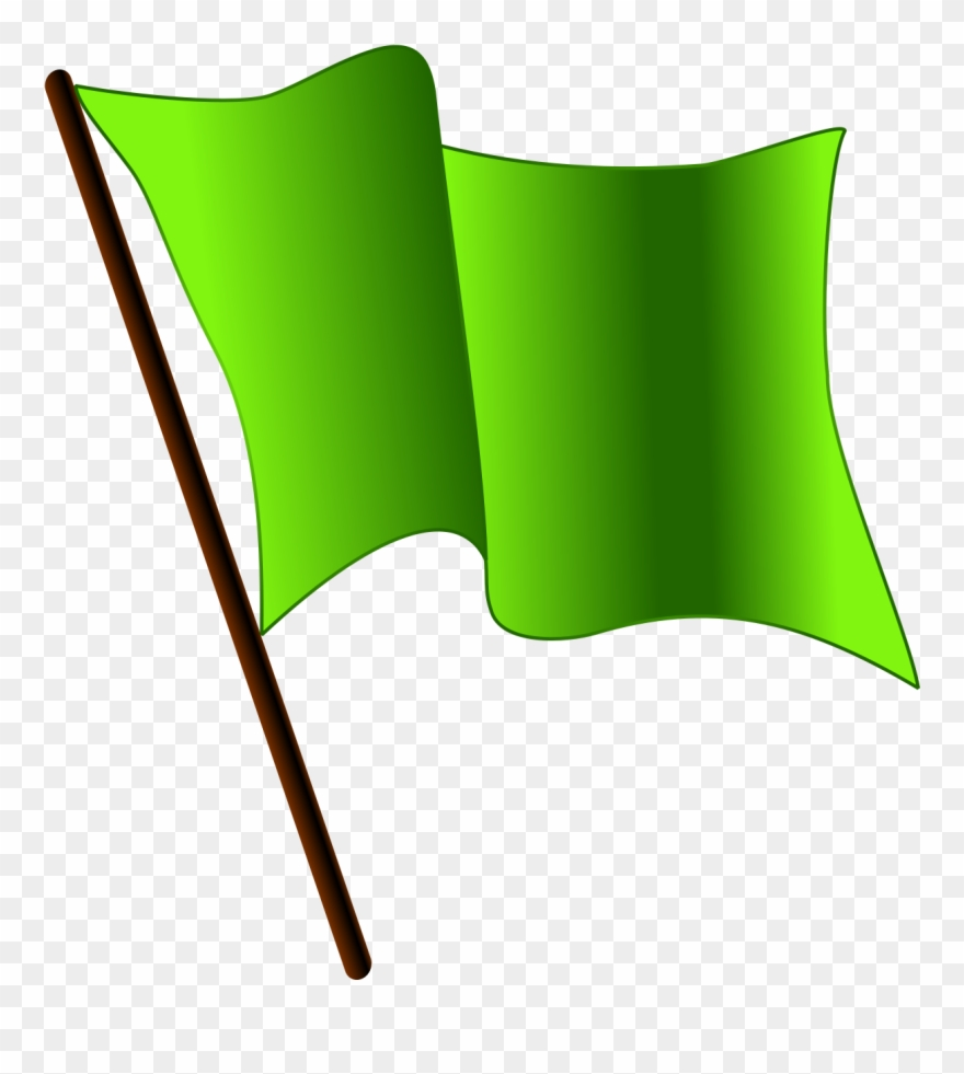 Flag clipart green. Waving gif png download
