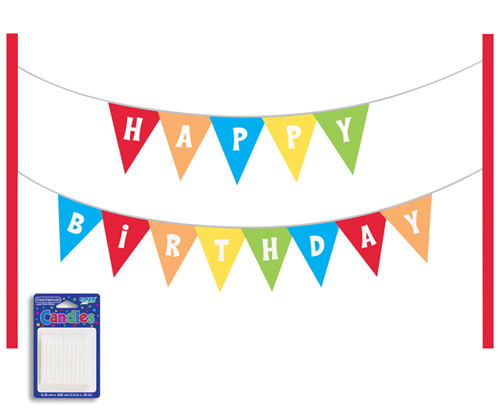Clip art library . Flag clipart happy birthday