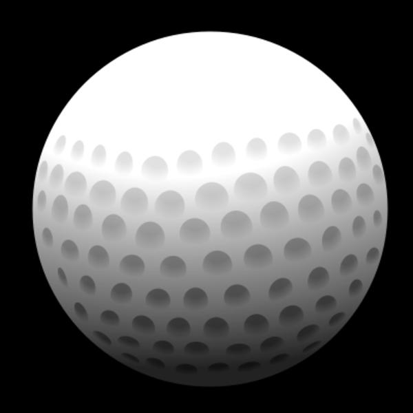 Golfer clipart vector. Golf ball clip art