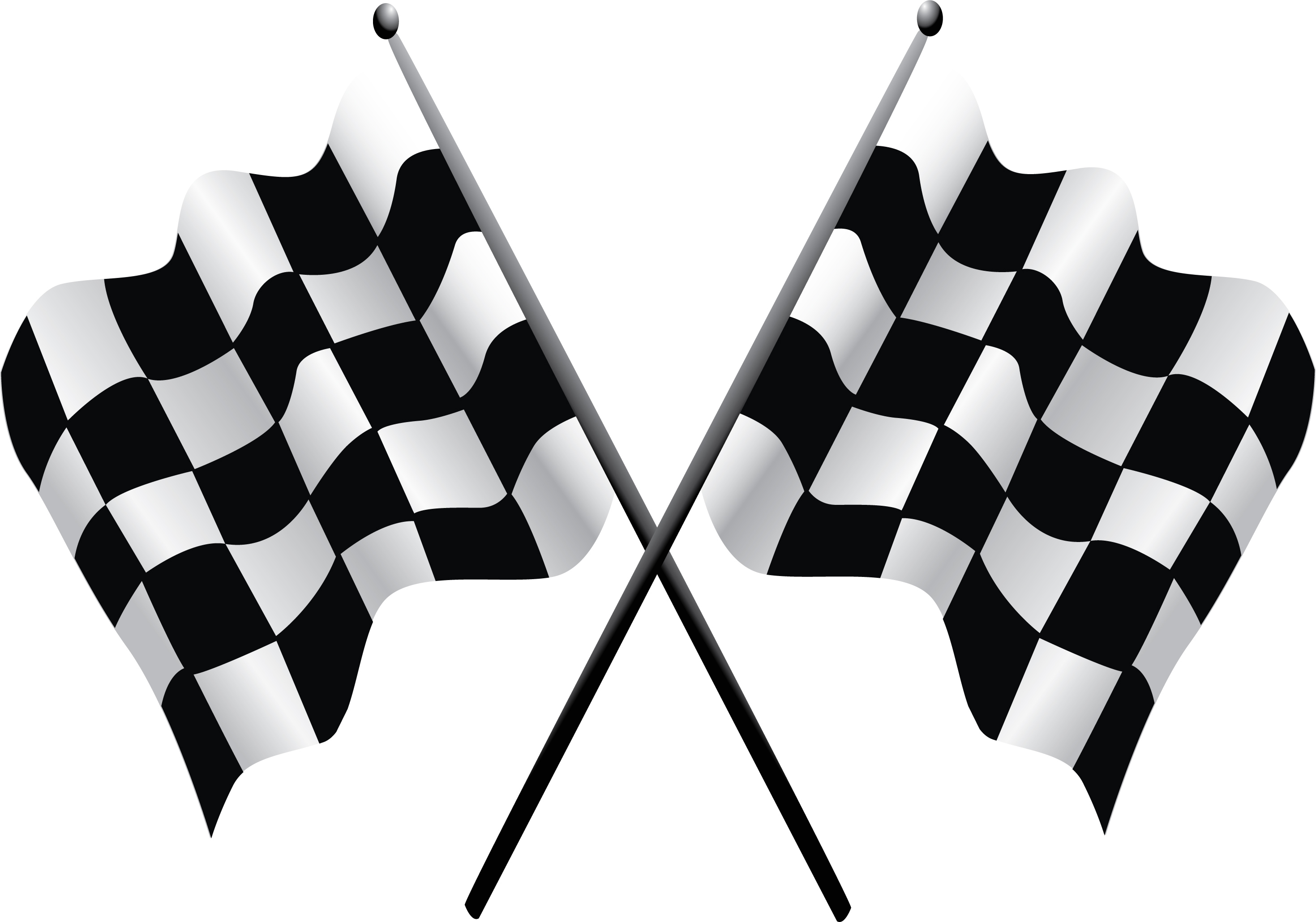 Race clipart chequered flag. Free racing flags download
