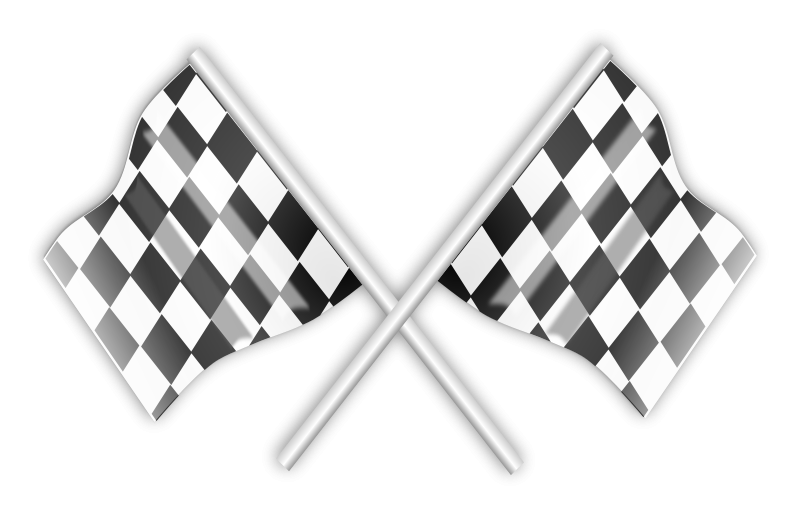 Race clipart end race. Free racing flag flags