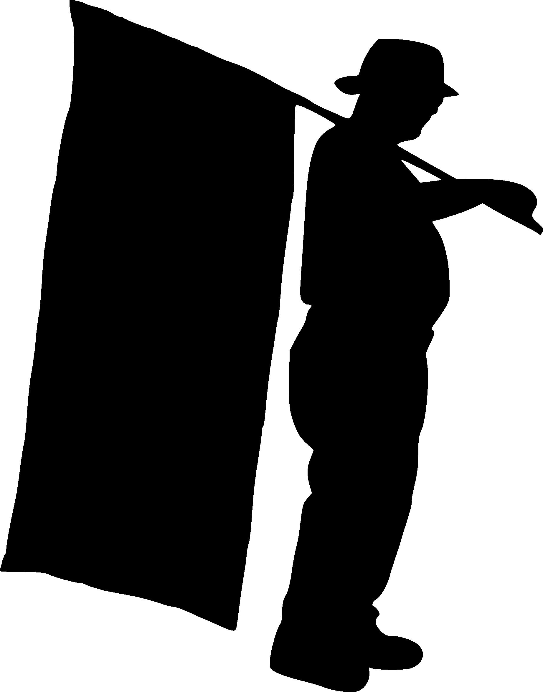 Georgia clipart silhouette. Flag at getdrawings com