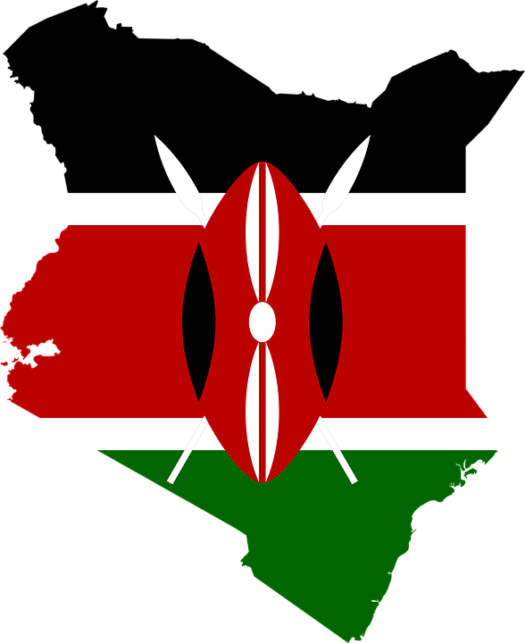 Kenya steps into space. Missions clipart international flag