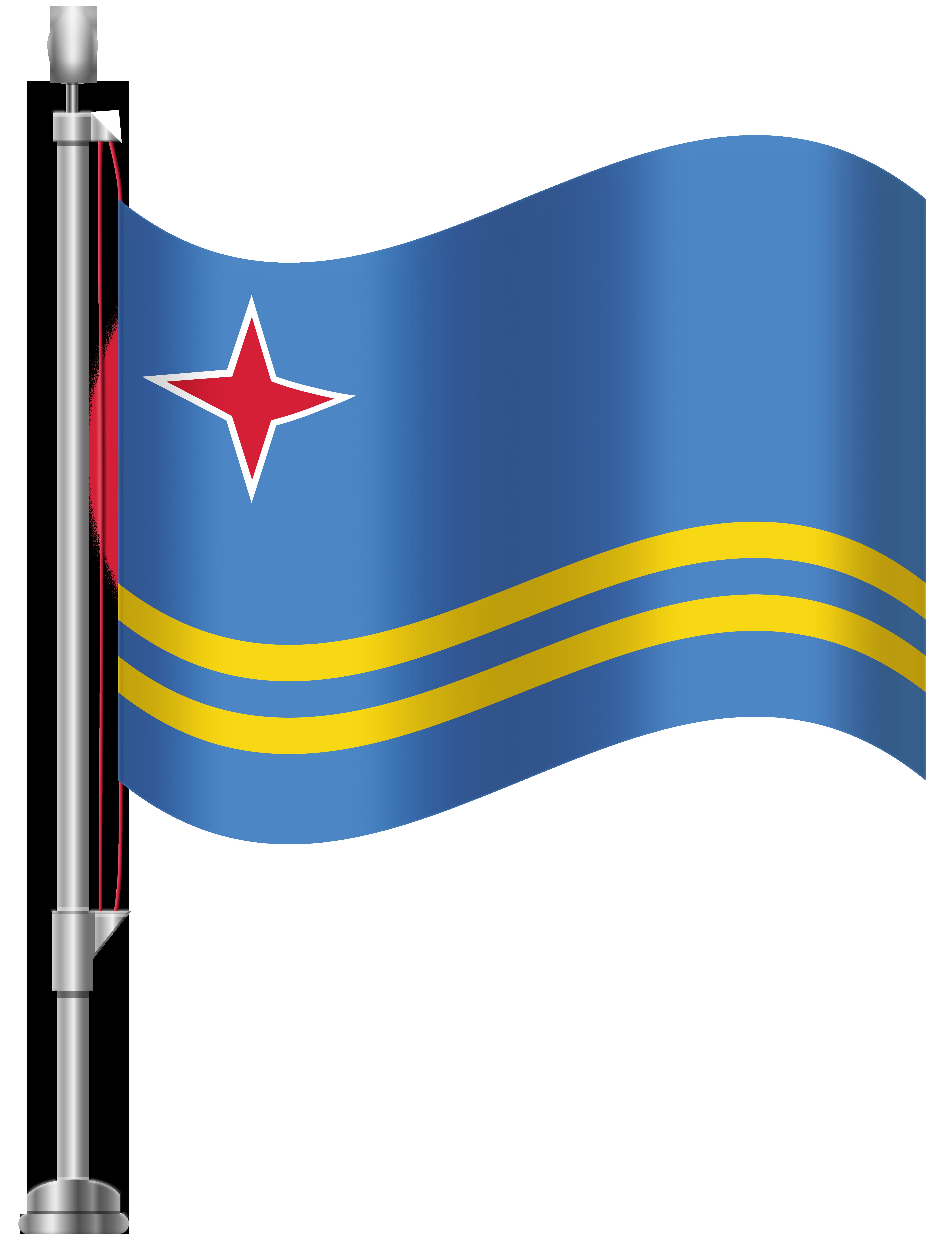 Aruba flag png clip. Passport clipart printable