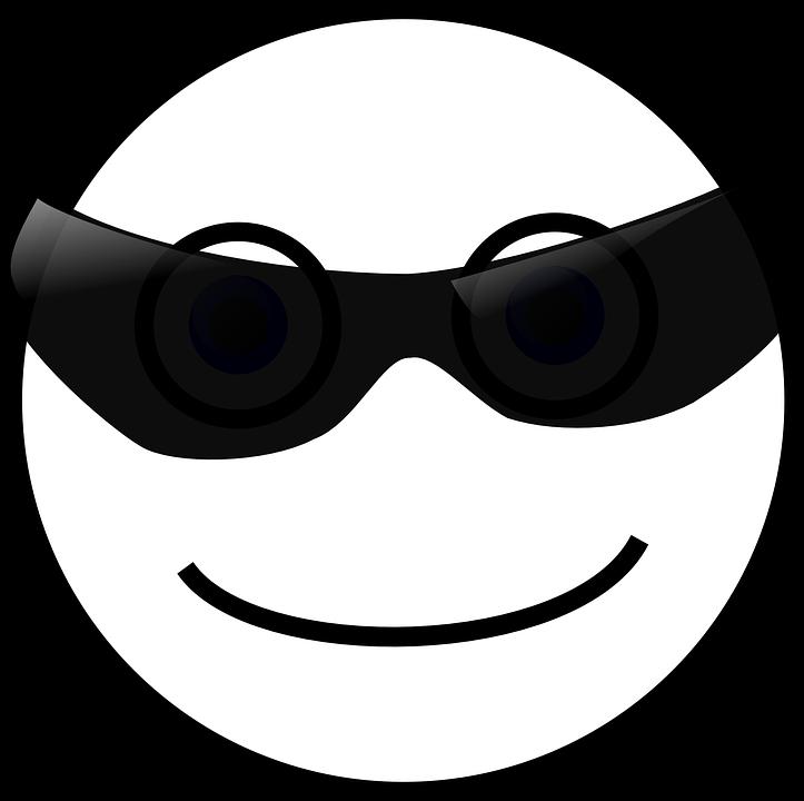 Sunglasses emoji sunshine free. Glass clipart face
