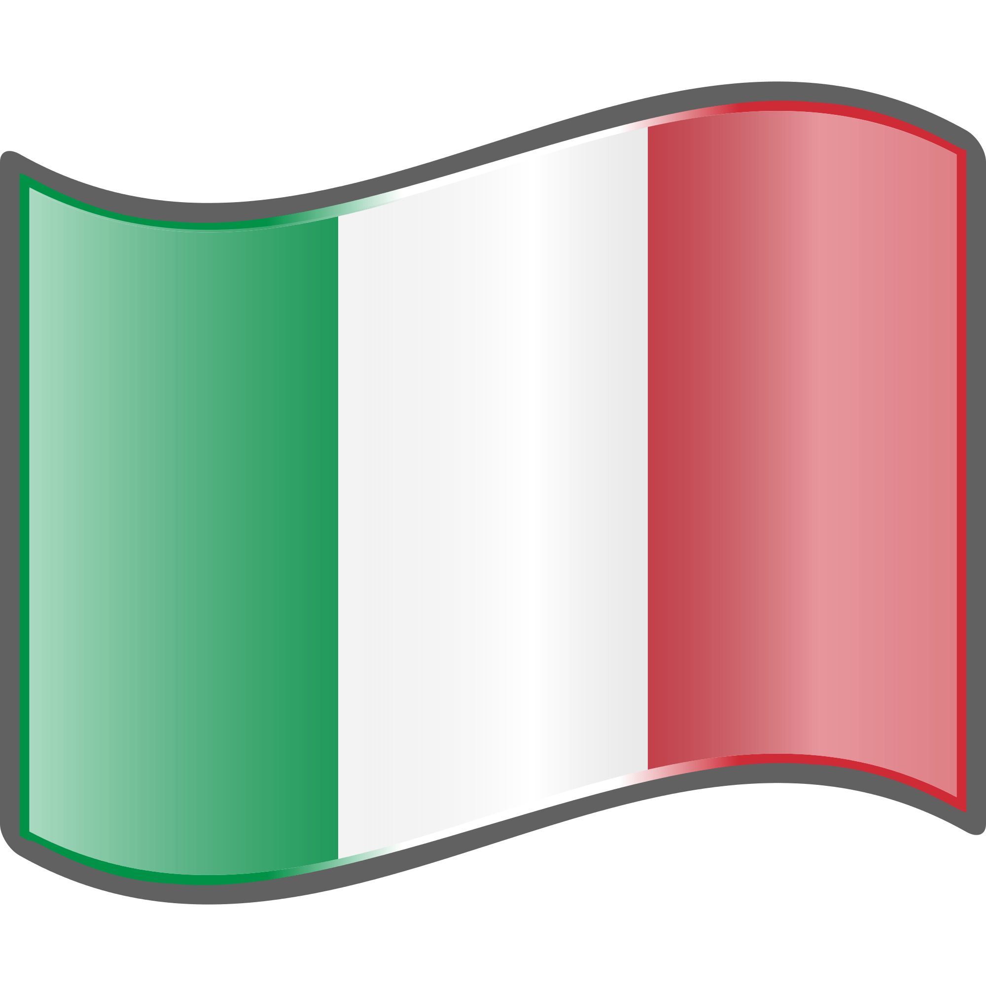 Irish clipart flag. Italian wave transparent png