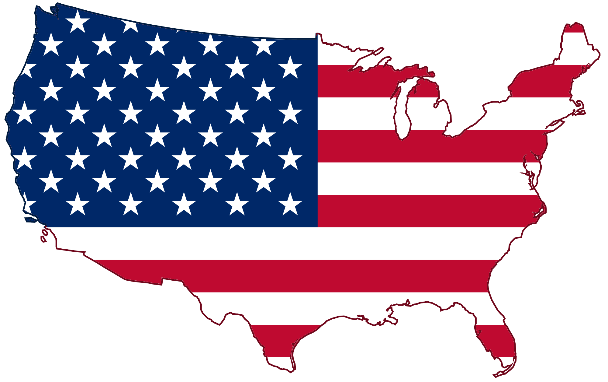 Germany clipart usa. Flag map transparent png