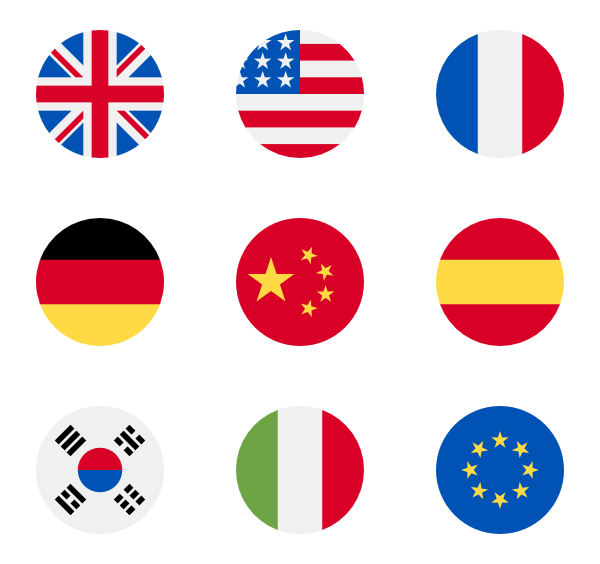 Flag clipart vector. Icons free
