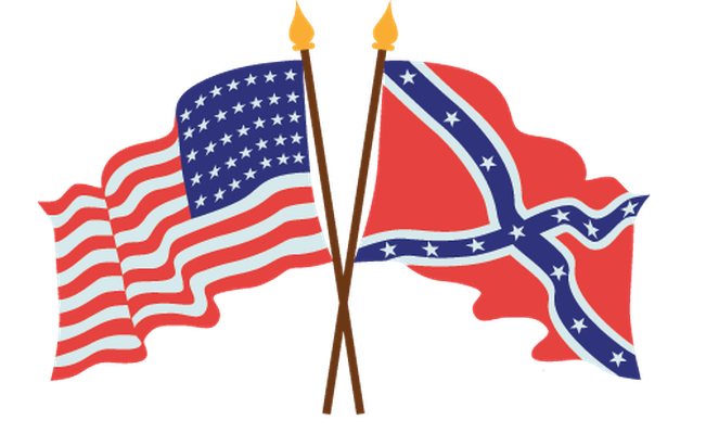 American civil war the. Flags clipart