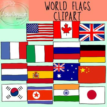 Of the world color. Flags clipart