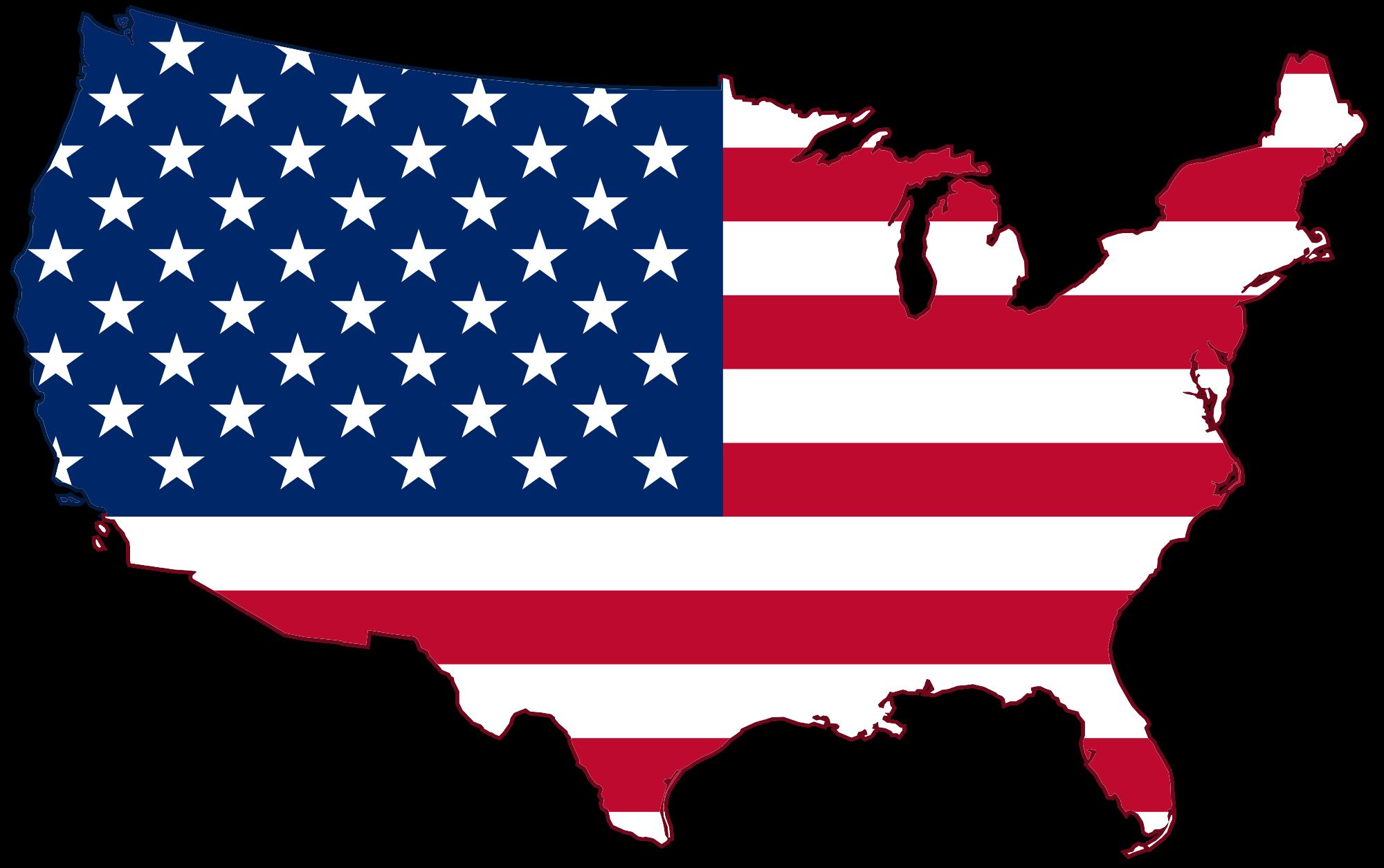 Pinata clipart flag. The united states of
