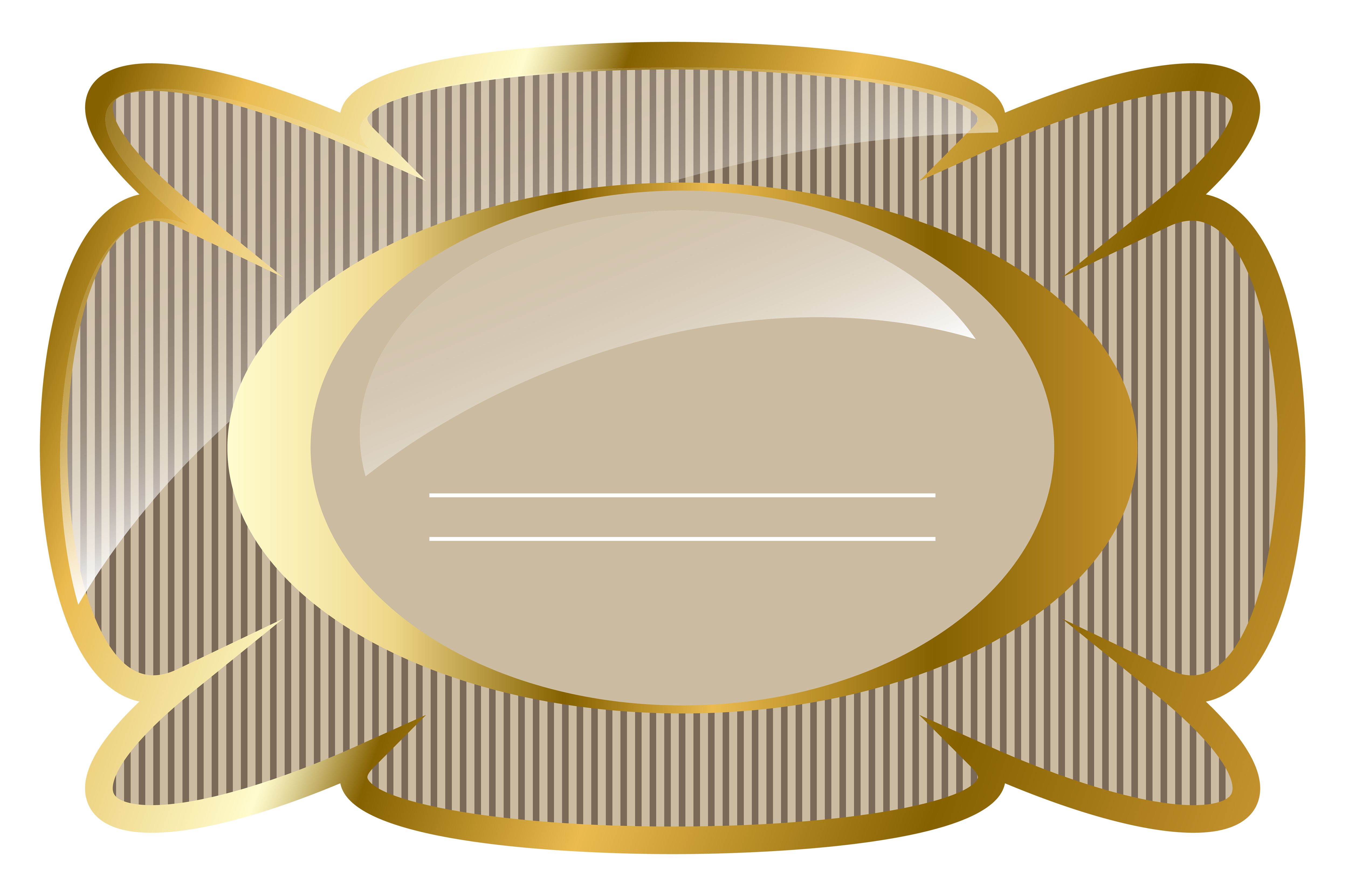 Flags clipart label. Cream and gold luxury