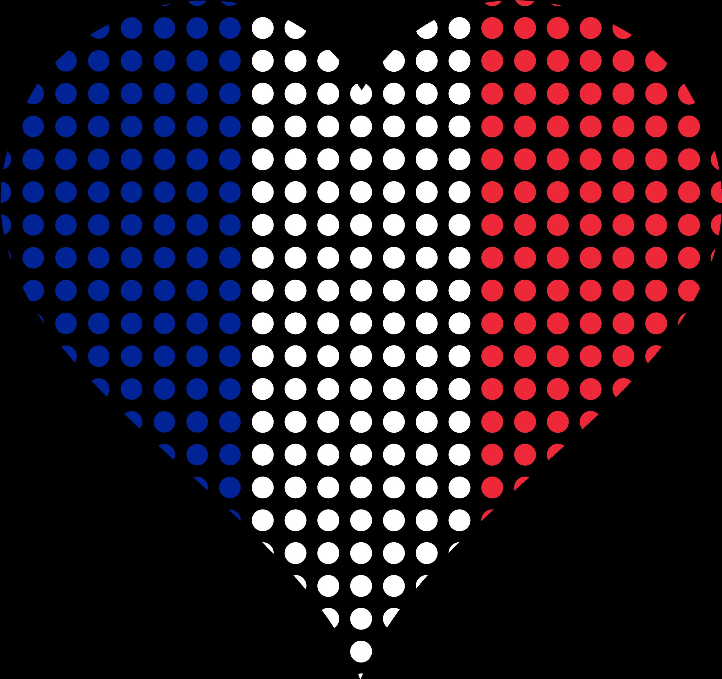 Heart clipart flag. France free on dumielauxepices