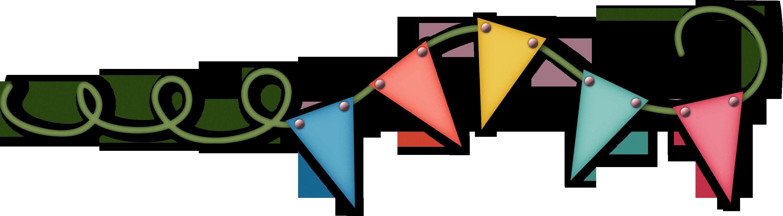 Triangular clipart pennant. Banner pennon flag bunting
