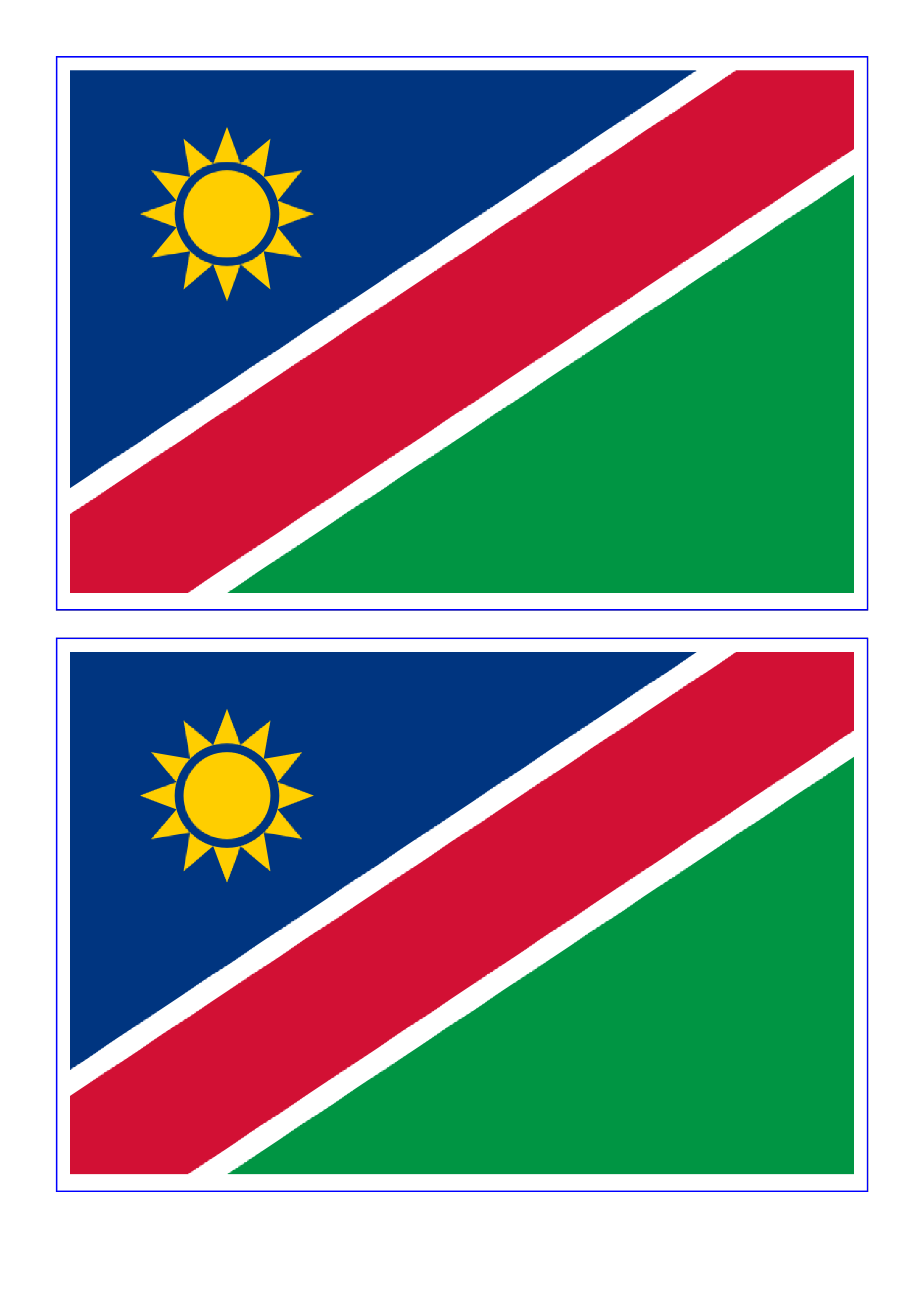 Namibia flag download this. Flags clipart printable