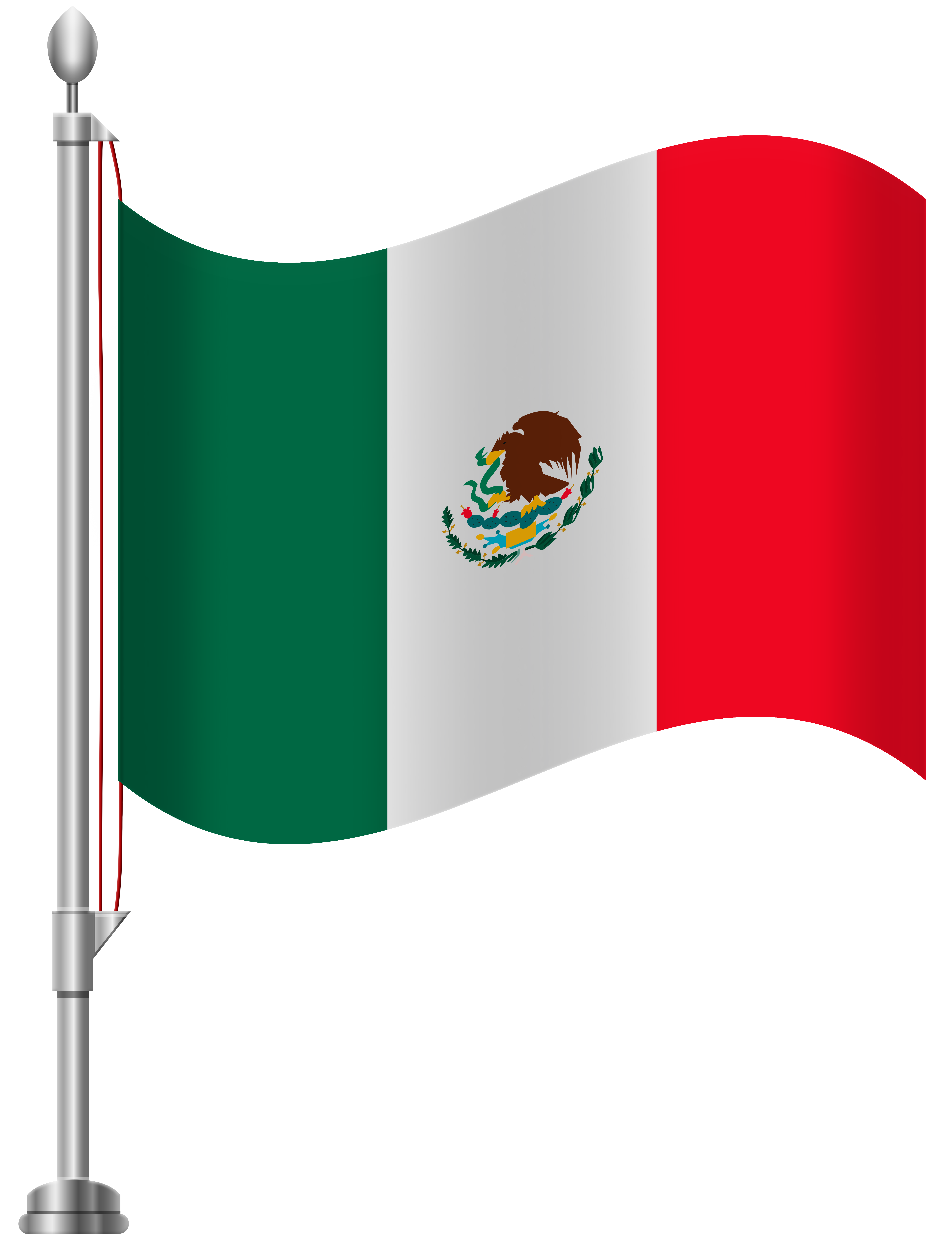 Mexican clipart instrument mexican. Outdoor flag pole lighting