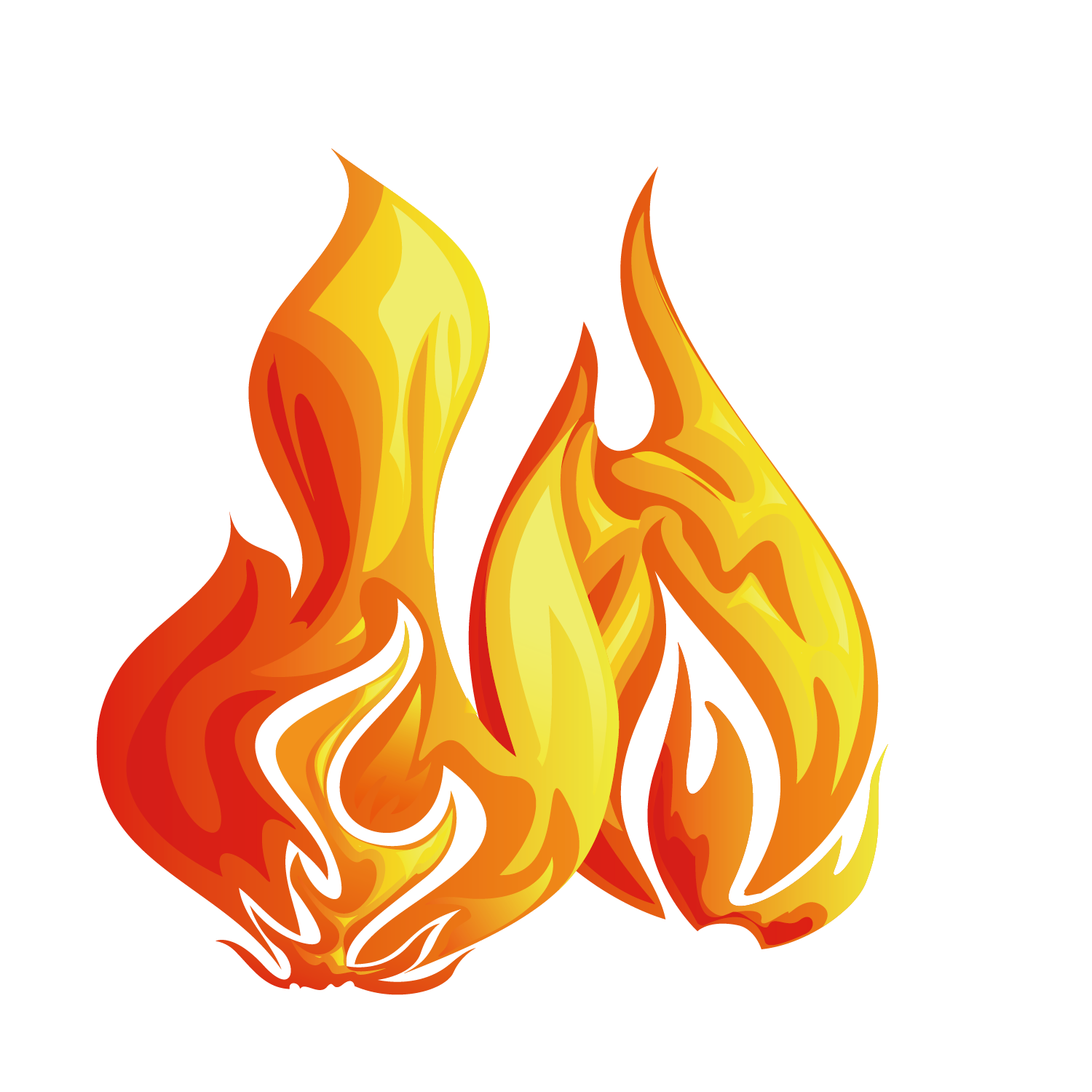 Flame border png.  for free download