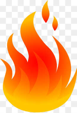 Realistic flame cliparts free. Fire clipart