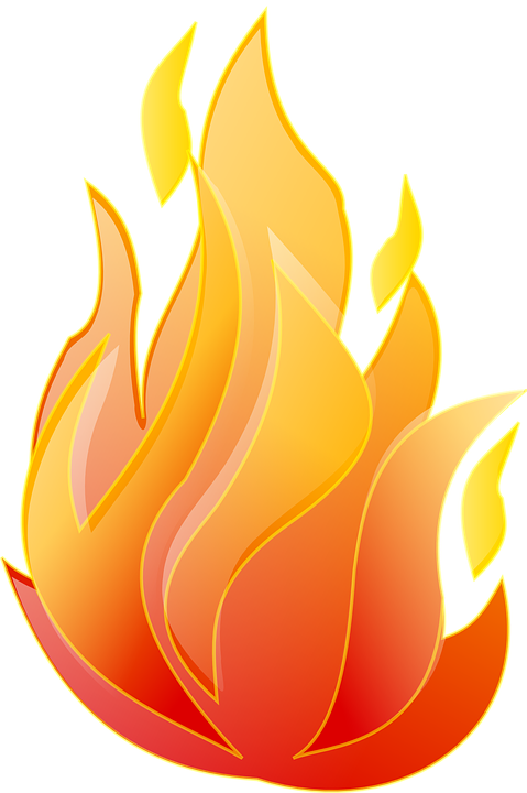Hearts clipart fire. Flame live