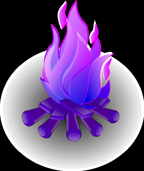 Flame clipart emoji. Purple fire cliparts free