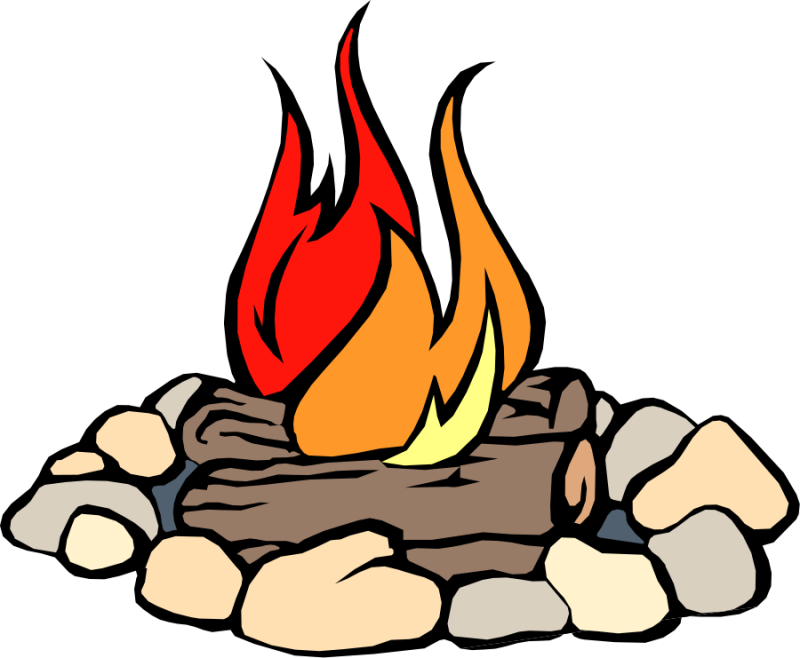 Log clipart campfire. Fire translucent transparent ourclipart