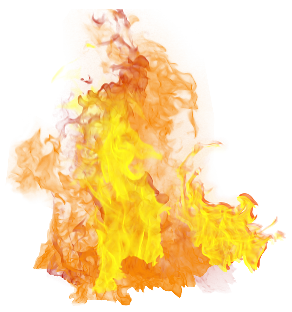 flames clipart yellow flame