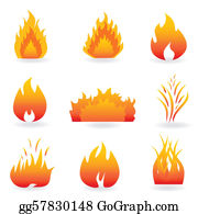 Clip art royalty free. Flame clipart little