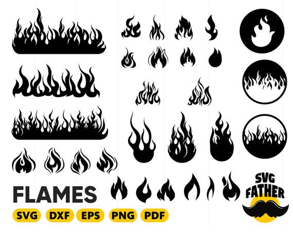 Fire flame calgary vector. Flames clipart svg
