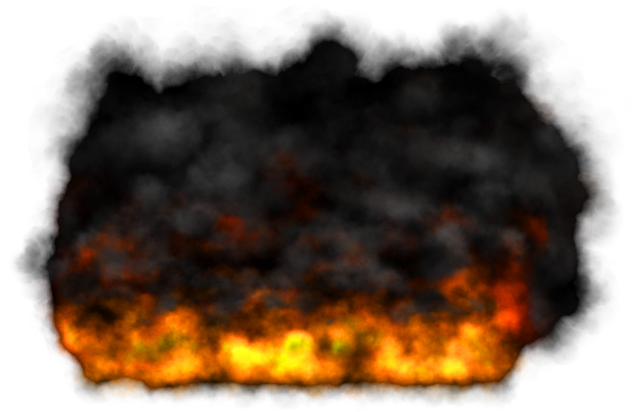 Fire and smoke png. Misc cloud element by