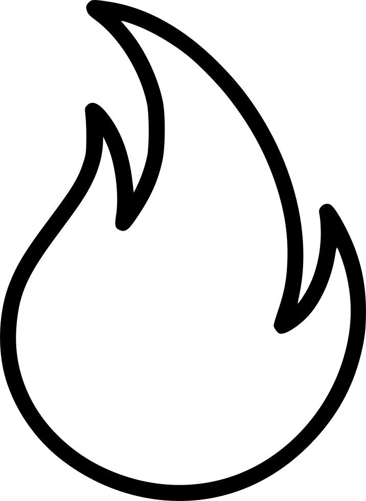 Flame icon png. Svg free download onlinewebfonts