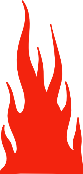 Flame vector png. Red clip art at