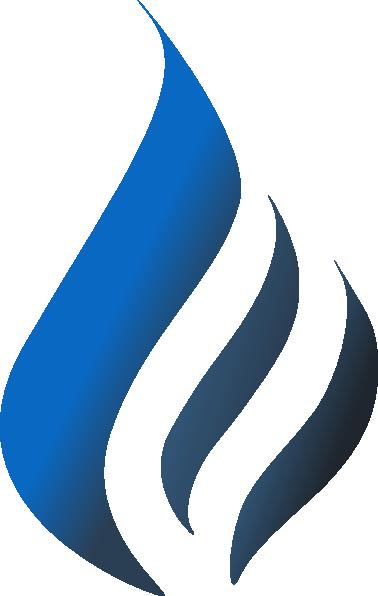 Blue simpleblueblack clip art. Flame vector png