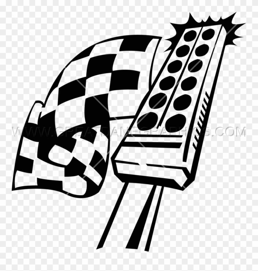 Race clipart starter. Download drag racing tree