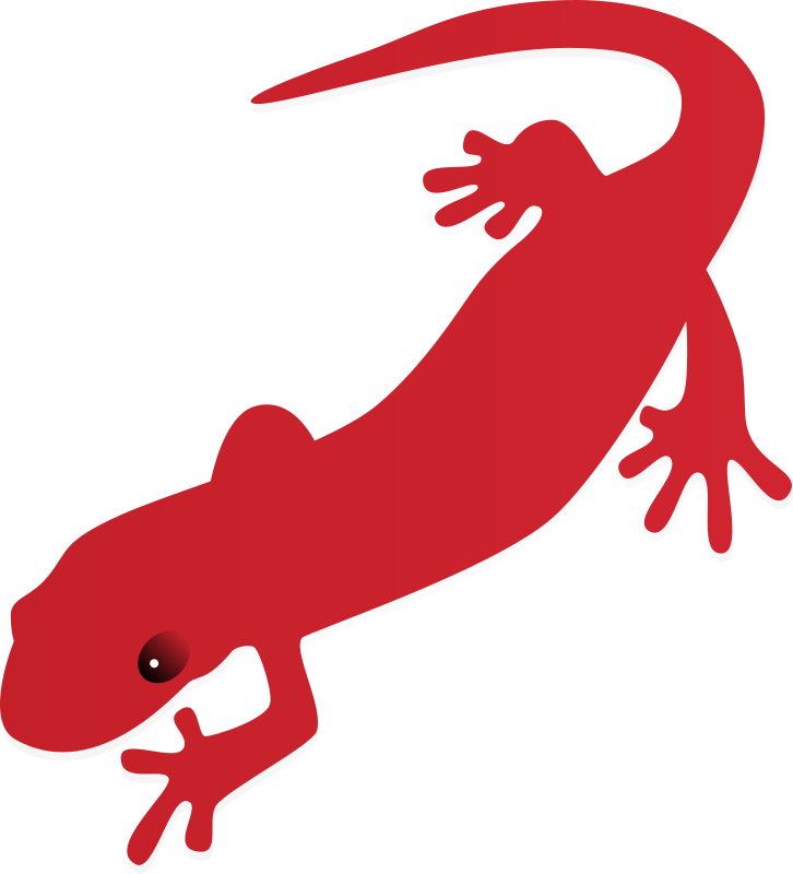 Symbols from fahrenheit image. Gecko clipart newt