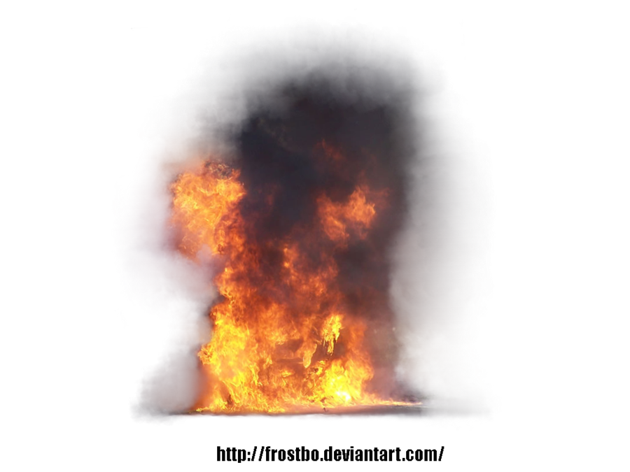 Fire smoke png. Flames clipart blast free