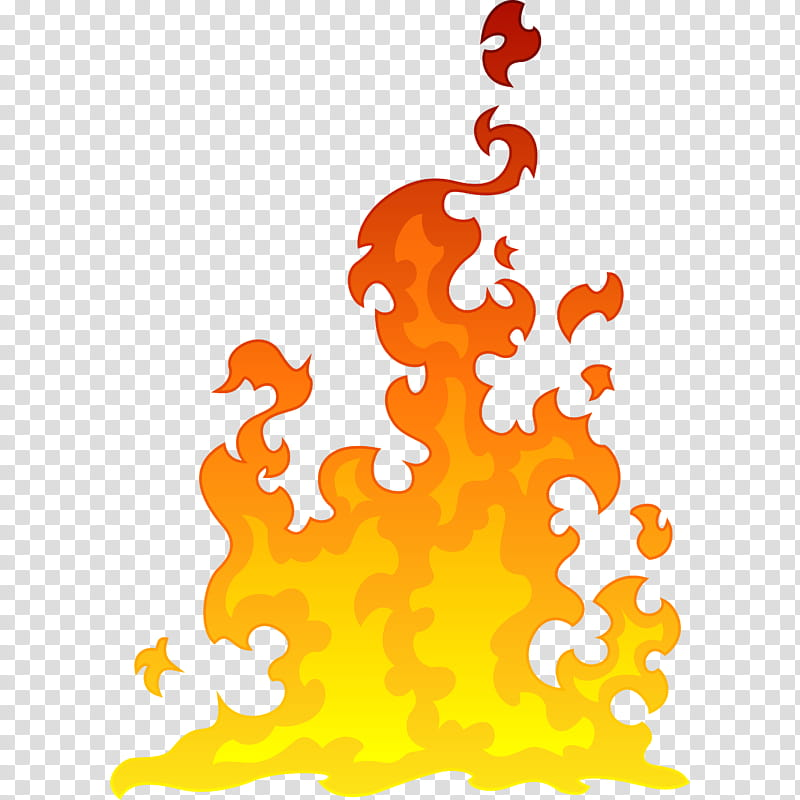 Red and yellow flame. Flames clipart fire design