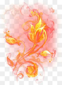 Spark free graphic resources. Flames clipart fire flower